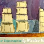 Winslow Homer Clipper Ship