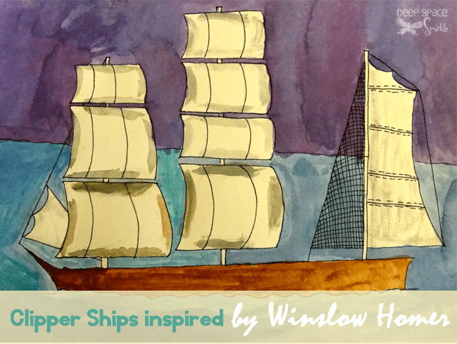 Winslow Homer Clipper Ship