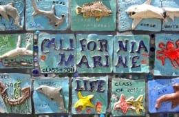 6th Grade Ceramic Mural