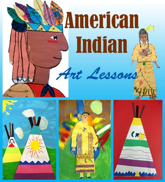 American Indian Art Lesson Plans