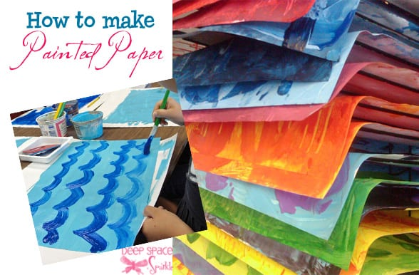 How-to-make-painted-paper
