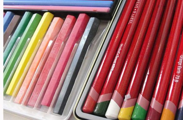 The Best Colored Pencils - Deep Space Sparkle