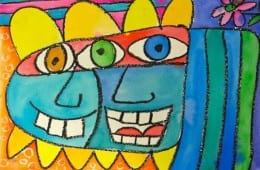 James Rizzi Art Lesson