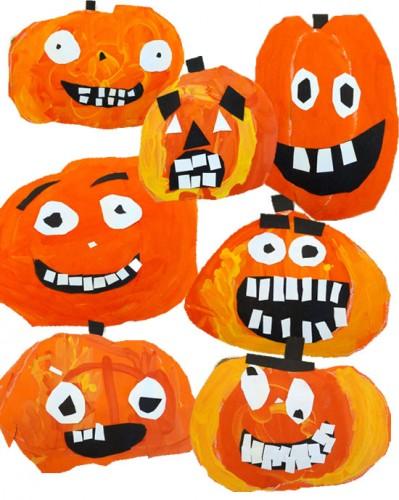 It is a graphic of Ridiculous Pumpkin Artwork Preschool