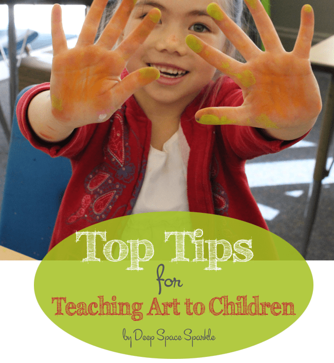 Top tips for teaching art to children