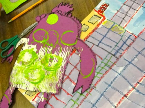 Monsters Don T Eat Broccoli Art Project Deep Space Sparkle