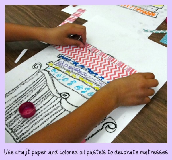Crown Lesson Plan: Princess And The Pea Art Lesson