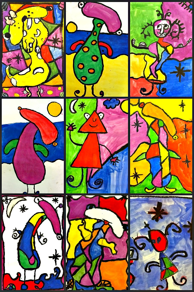 Art Lessons : Art lesson lines