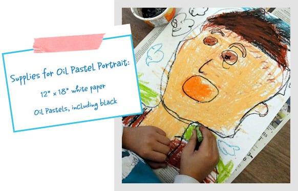 Oil-Pastel-Portait-