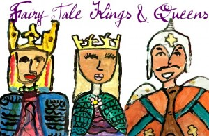 Fairy-tale-royals art lesson
