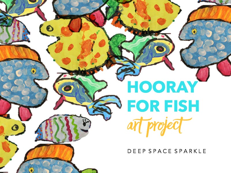 Hooray for Fish Art Project