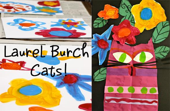 Laurel Burch project