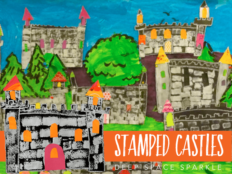 EASY castle project for kids