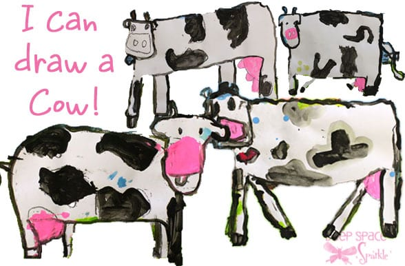I Can Draw A Cow Deep Space Sparkle