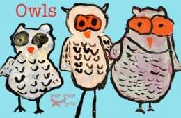 Snowy Owl Art Project