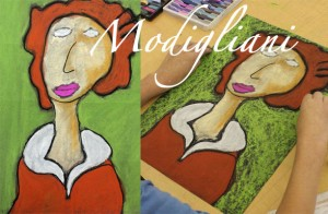 Modigliani-Art-Project