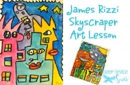 James Rizzi Skyscraper Art Lesson