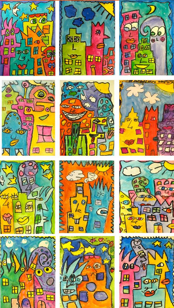 James Rizzi Art Lessons