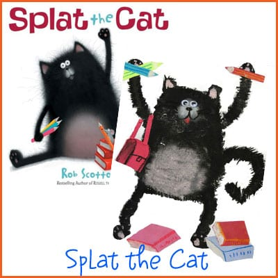 how to draw splat the cat