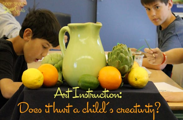 Art-Instruction: Does it hurt a child's creativity?
