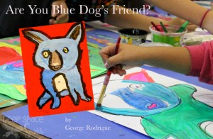 Blue-Dog-art-lesson