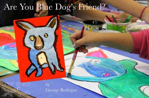 Blue-Dog-art-lesson