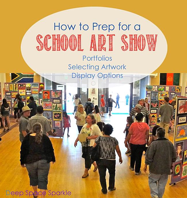 How to run a school art show