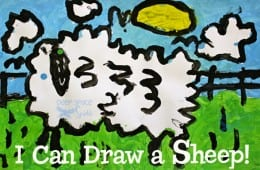 I Can Draw a Sheep!