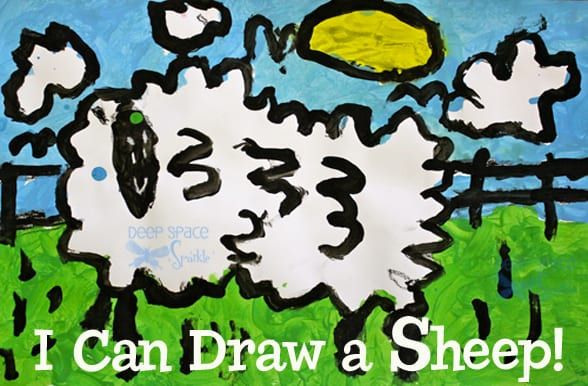 I-can-draw-a-sheep