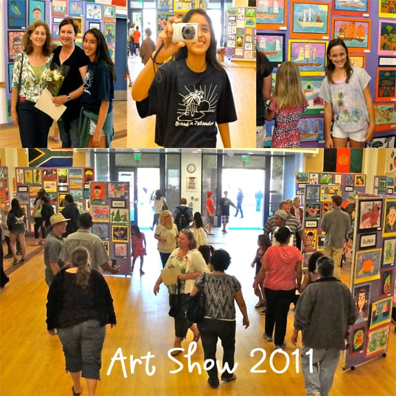 How to run a school art show