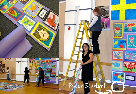 How to run a school art show: recruiting volunteers