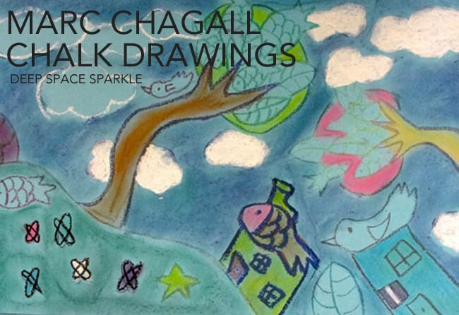 MARC-CHAGALL-CHALK-PAINTINGS