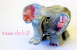 Ceramic Elephant Art Lesson