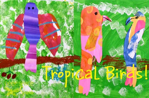 Parrot-art-project