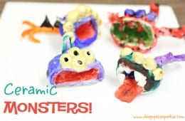 Pinch Pot Monsters