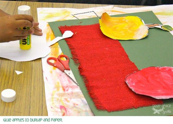 Tente este lindo projecto de desenho de maçãs com os seus filhos e depois experimente com cores para pintar as suas maçãs.