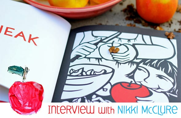 Nikki-McClure-Apple-art-lesson