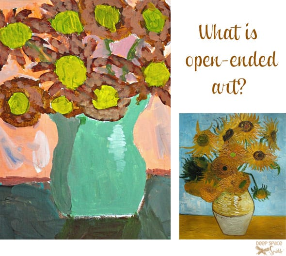 Art teachers weigh in about the importance of open-ended art versus instruction-lead approach.