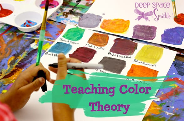How to teach color theory to kids