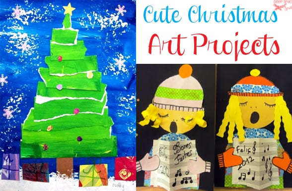 christmas art projects