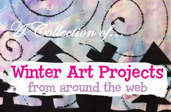 A collection of winter art projects