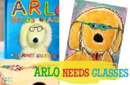 Arlo Needs Glasses Art Lesson