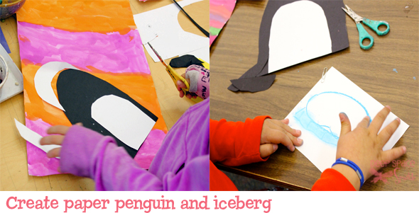 Peguin-art-lesson
