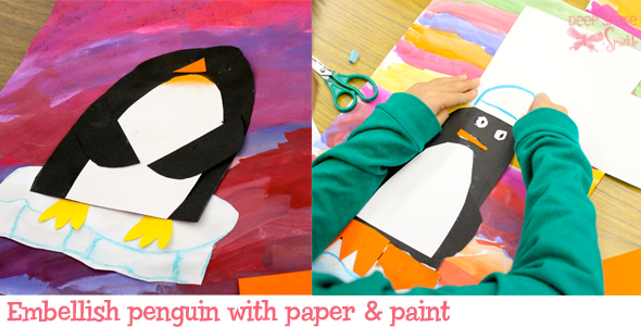 Peguin-art-lesson2