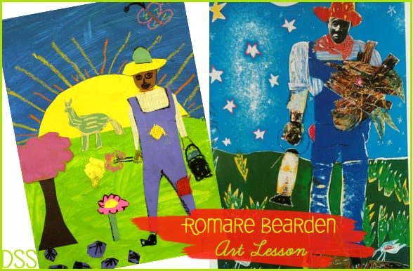 celebrating black artists through literature and art with Romare Bearden