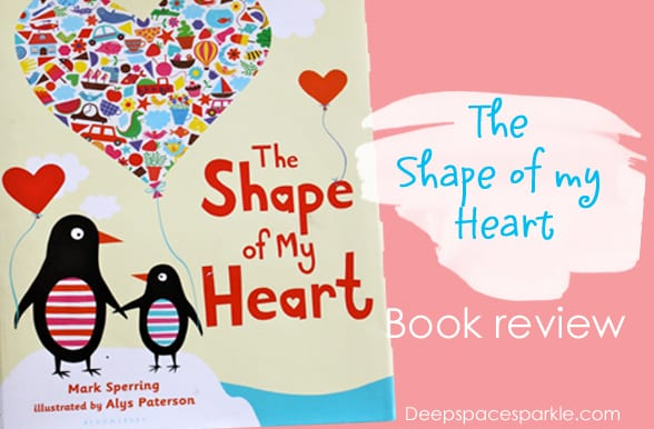The Shape of My Heart is a great book to read during Valentine's Day festivities. Also links up to a kid's art project.
