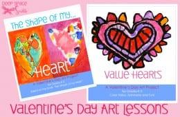 Valentine's Day Art Lessons