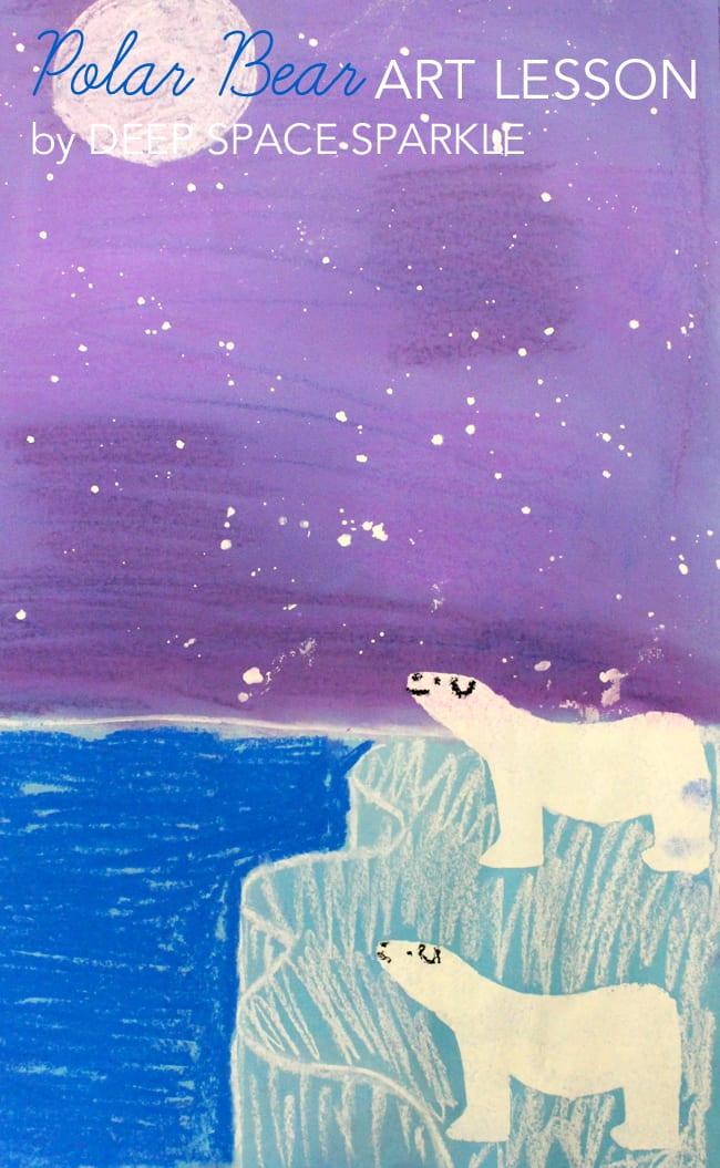 polar-bear-art-lesson