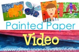 Painted Paper Video