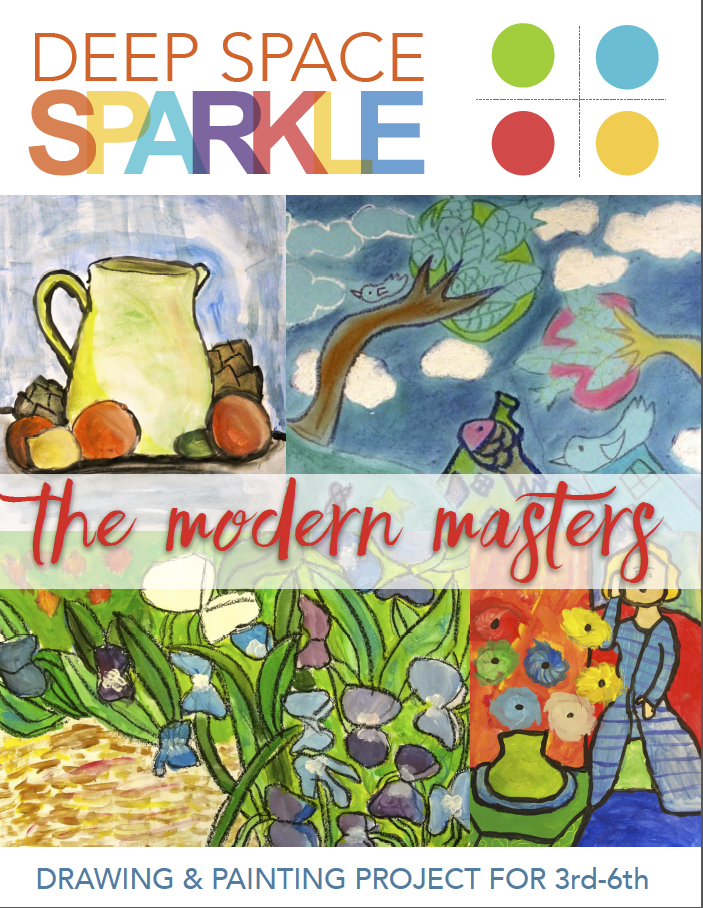 How to Paint Like The Masters! Modern Masters Art Projects for grade 3-6